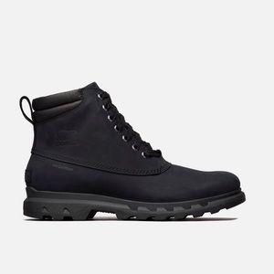 c7963b49594 NEW • Sorel • Portzman Lace Up Winter Boots Black NWT
